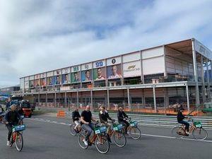 Cycling at Circuit Zandvoort