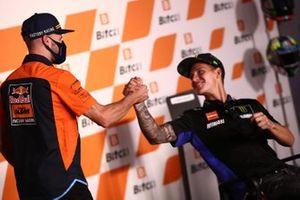 Brad Binder, Red Bull KTM Factory Racing Fabio Quartararo, Yamaha Factory Racing