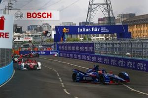 Robin Frijns, Envision Virgin Racing, Audi e-tron FE07, Sergio Sette Camara, Dragon Penske Autosport, Penske EV-5