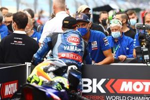 Andrea Locatelli, PATA Yamaha WorldSBK Team, Toprak Razgatlioglu, PATA Yamaha WorldSBK Team