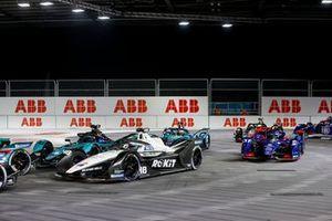 Edoardo Mortara, Venturi Racing, Silver Arrow 02, Sam Bird, Jaguar Racing, Jaguar I-TYPE 5, Nick Cassidy, Envision Virgin Racing, Audi e-tron FE07, Oliver Turvey, NIO 333, NIO 333 001