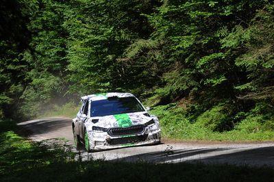 Skoda Fabia Rally2 2021 - test