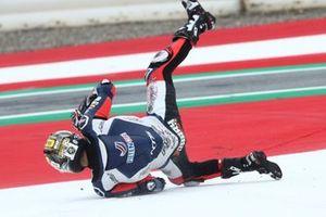 Caída de Barry Baltus, NTS RW Racing GP