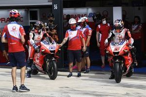 Jorge Martin, Pramac Racing. Johann Zarco, Pramac Racing