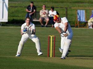 Match de cricket avec Alex Brundle, Rob Huff