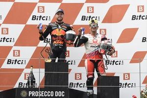 Jorge Martin, Pramac Racing, Brad Binder, Red Bull KTM Factory Racing