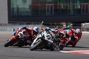 Loris Baz, Alvaro Bautista, Team HRC, Michael Ruben Rinaldi, Aruba.It Racing - Ducati