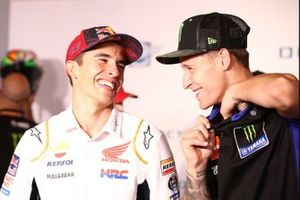 Marc Márquez, Repsol Honda Team Fabio Quartararo, Yamaha Factory Racing