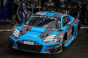 #26 Sainteloc Racing Audi R8 LMS GT3: Frederic Vervisch, Finlay Hutchison, Markus Winkelhock