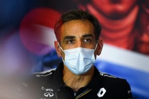 Cyril Abiteboul, Managing Director, Renault F1 Team, in the team principals Press Conference