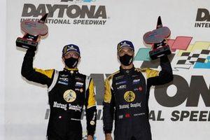 #5 Mustang Sampling Racing / JDC-Miller MotorSports Cadillac DPi, DPi: Sebastien Bourdais, Joao Barbosa, podium