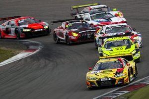 #15 Phoenix Racing Audi R8 LMS GT3: Michele Beretta, Kim-Luis Schramm, Mike Rockenfeller