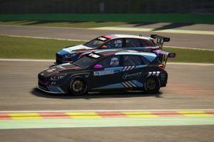 Jessica Backman, Target Competition, Hyundai i30 N TCR, e Mat'o Homola, BRC Racing Team, Hyundai i30 N TCR