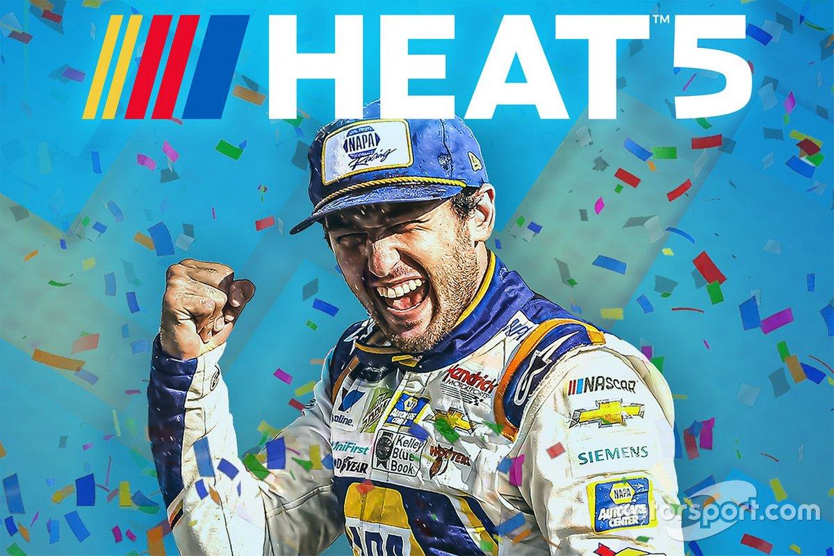 Компьютерная игра NASCAR Heat 5: обложка