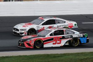 Christopher Bell, Leavine Family Racing, Rheem/Watts Toyota Camry, Ryan Newman, Roush Fenway Racing, Guaranteed Rate Ford Mustang
