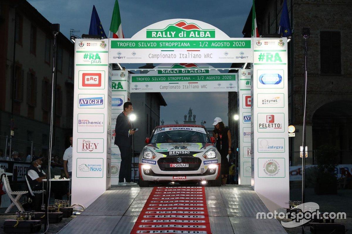 Nicola Schileo, AlessandroCervi, Suzuki Swift R1