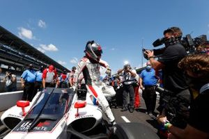 Marco Andretti, Andretti Herta with Marco & Curb-Agajanian Honda, NTT P1 Award pole winner