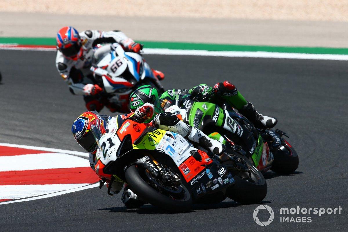 Michael Rubin Rinaldi, Xavi Fores, Kawasaki Piccetti Racing