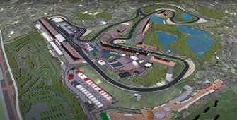 Screenshot Circuit Zandvoort F1 animatie