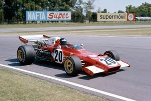Jacky Ickx, Ferrari 312B2 in the spare car