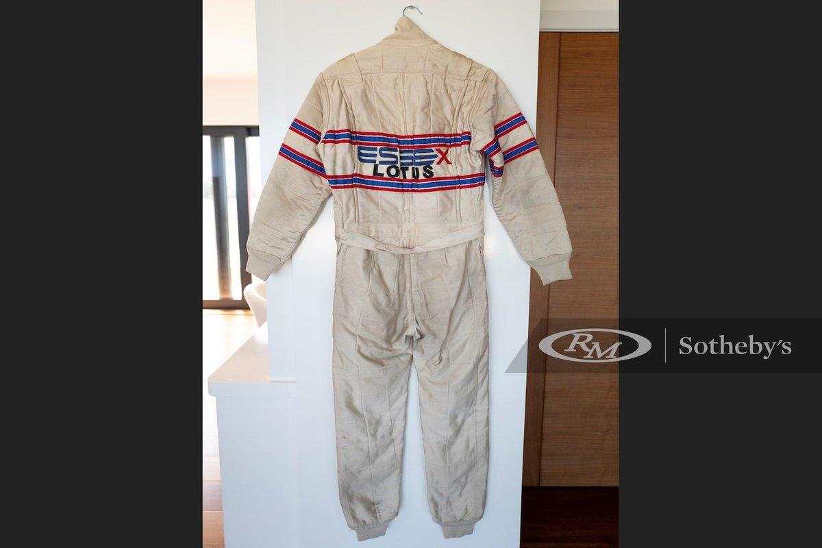 la tuta di Nigel Mansell