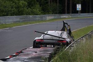 Crash, #50 CarCollection Audi R8 GT3 LMS