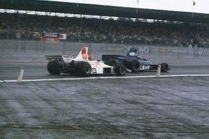 Patrick Depailler, Tyrrell 007, Tony Brise, Hill GH1