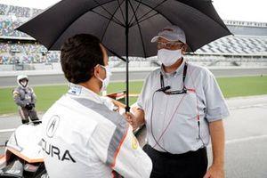 #7 Acura Team Penske Acura DPi, DPi: Helio Castroneves, mit John Doonan