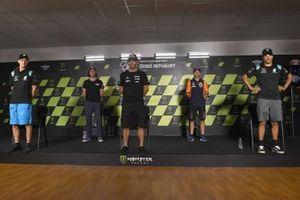 Fabio Quartararo, Petronas Yamaha SRT, Joe Roberts, Johann Zarco, Avintia Racing, Raul Fernandez, Franco Morbidelli, Petronas Yamaha SRT
