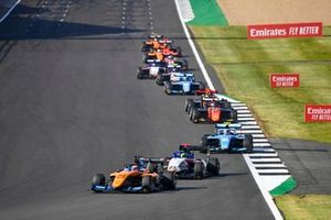 Alexander Peroni, Campos Racing, David Schumacher, Charouz Racing System et Federico Malvestiti, Jenzer Motorsport