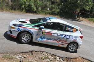 Andrea Mazzocchi Silvia Gallotti, Leonessa Corse, ACI Team Italia, Ford Fiesta R2