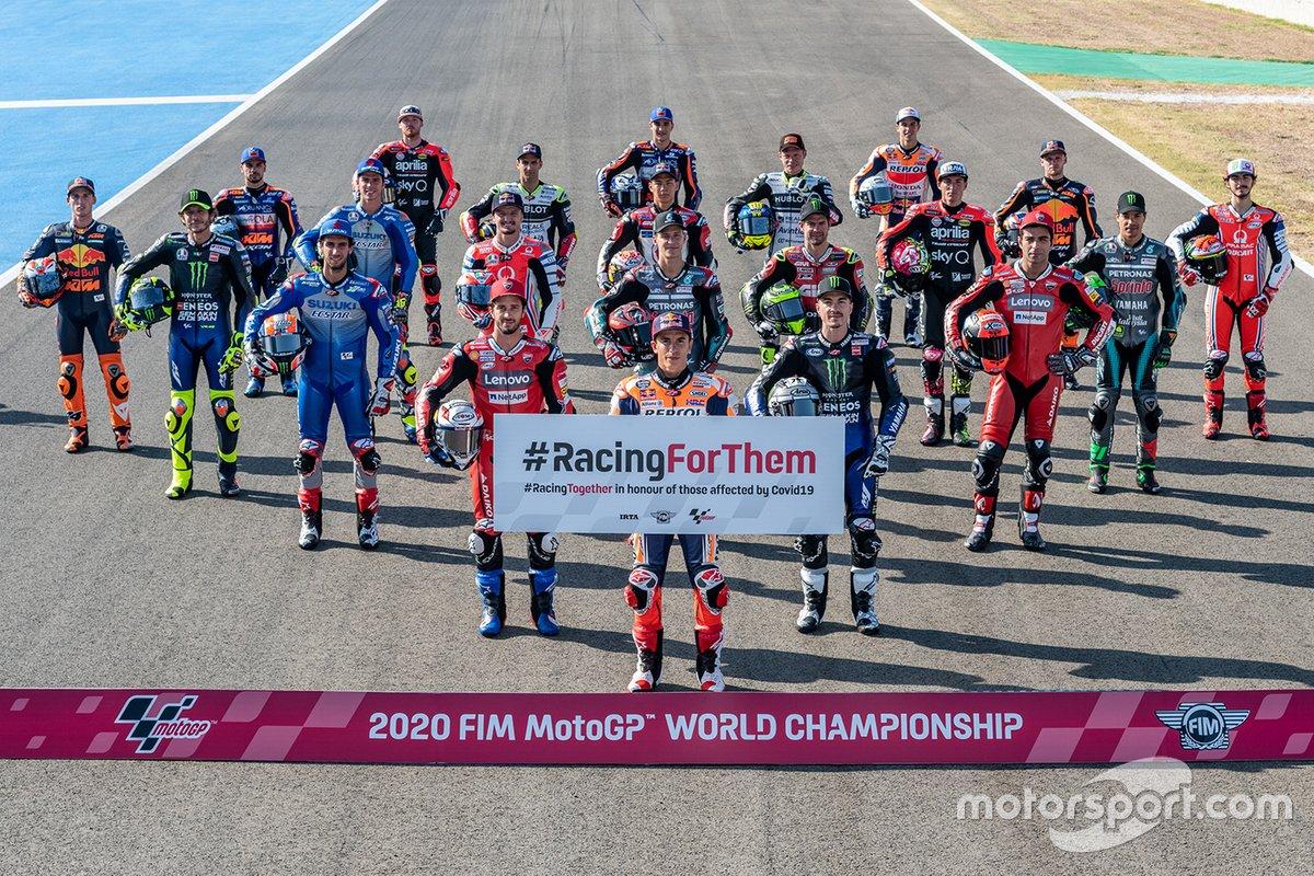 I piloti 2020 della MotoGP