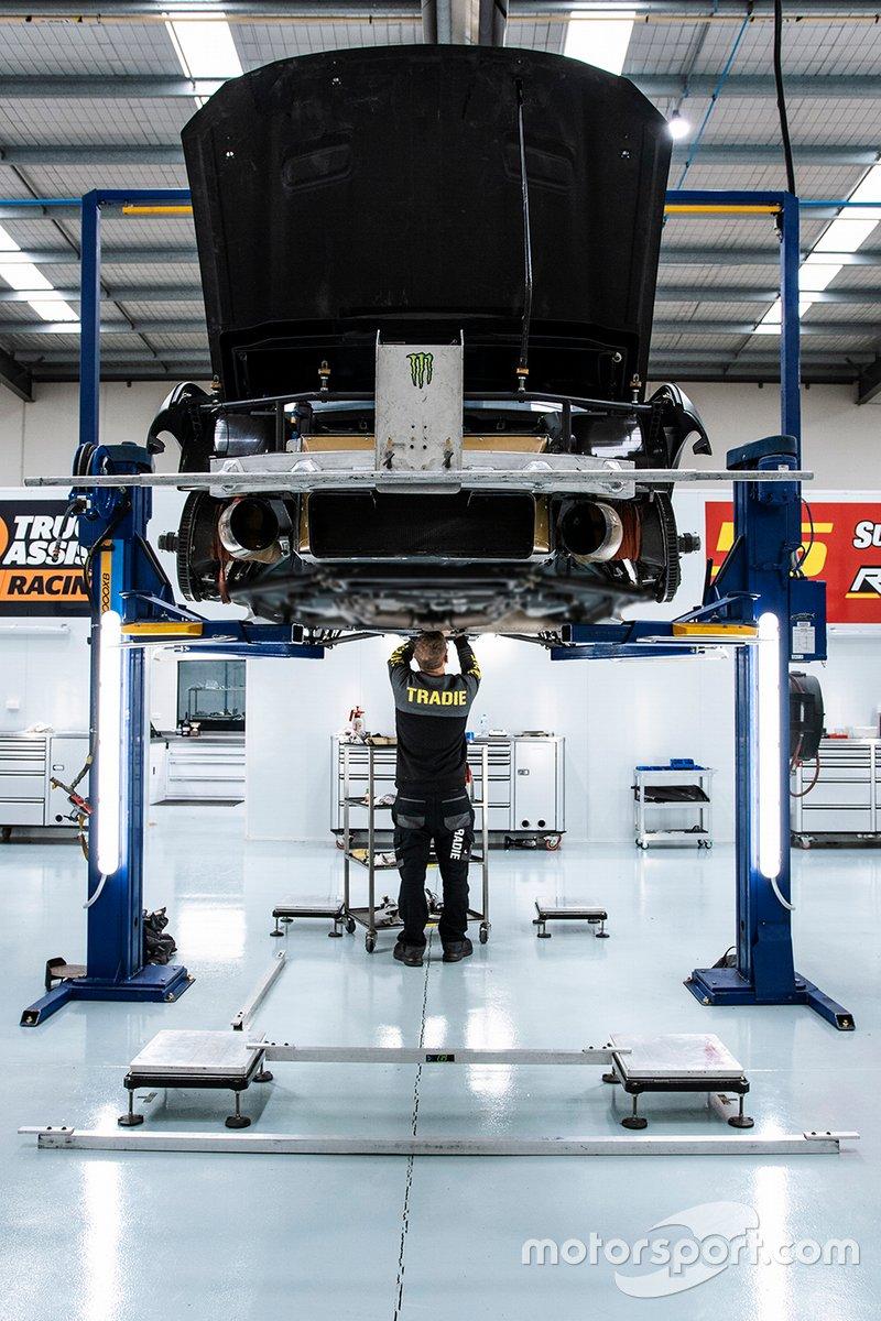 Tickford Racing's upgraded workshop