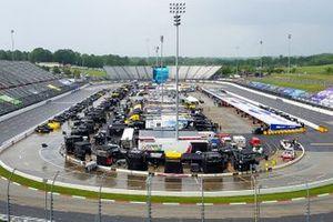 Martinsville Speedway im Regen