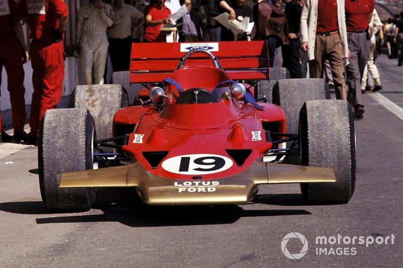 John Miles, Lotus 72