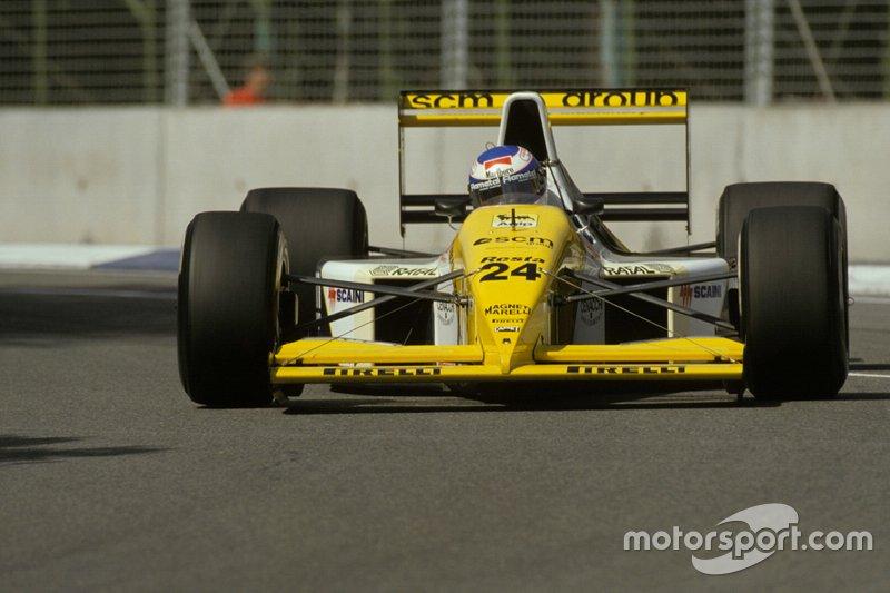 #24: Gianni Morbidelli (Minardi)
