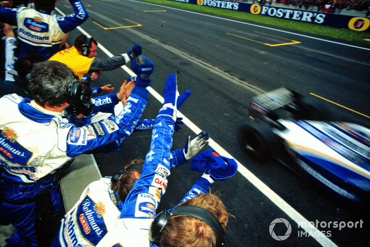 Ganador Damon Hill, Williams FW17 Renault