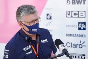 Руководитель команды Racing Point Отмар Зафнауэр
