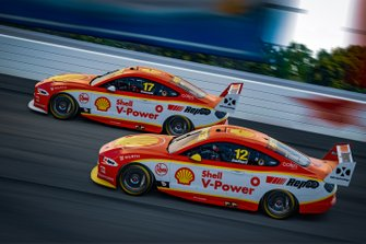 Fabian Coulthard, Team Penske, Scott McLaughlin, Team Penske