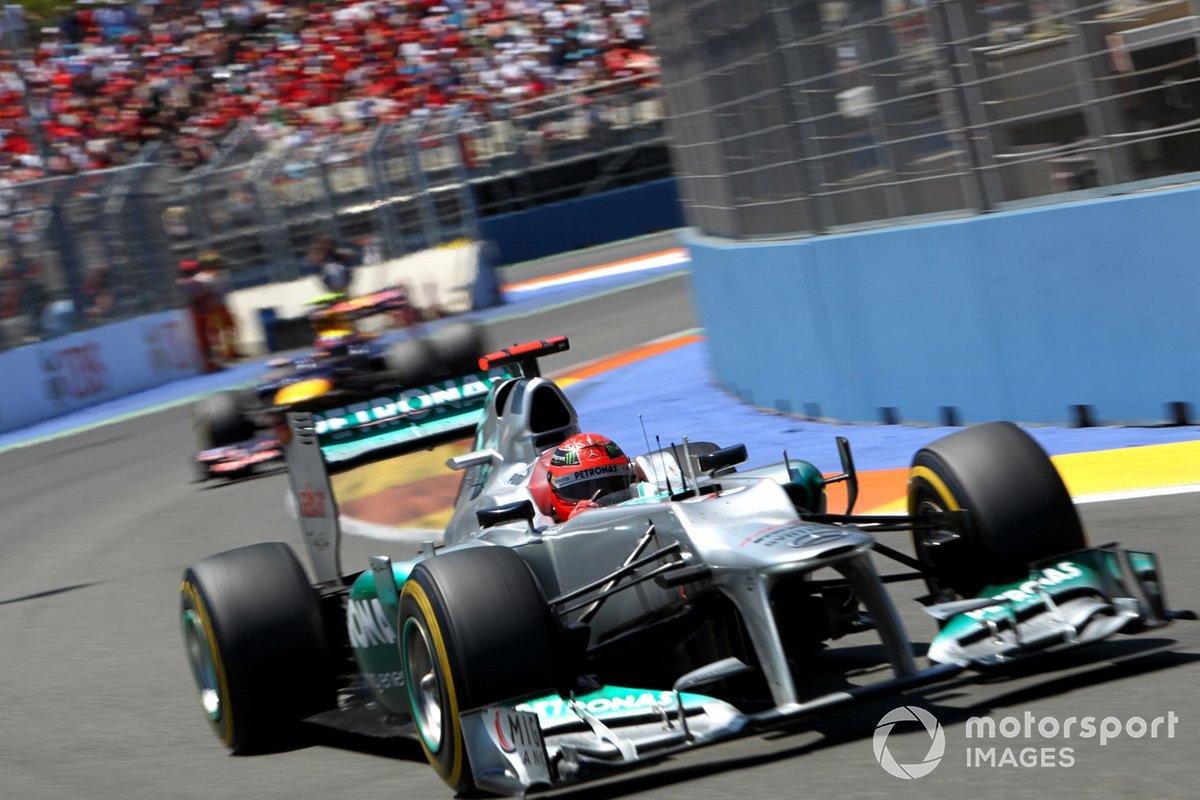 Michael Schumacher, Mercedes AMG F1 W03