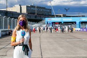 TV Presenter Nicki Shields