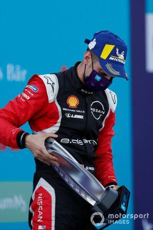 Podio: segundo lugar Sébastien Buemi, Nissan e.Dams