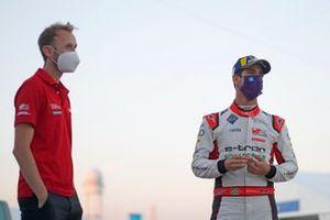 René Rast, Audi Sport ABT Schaeffler and Lucas Di Grassi, Audi Sport ABT Schaeffler