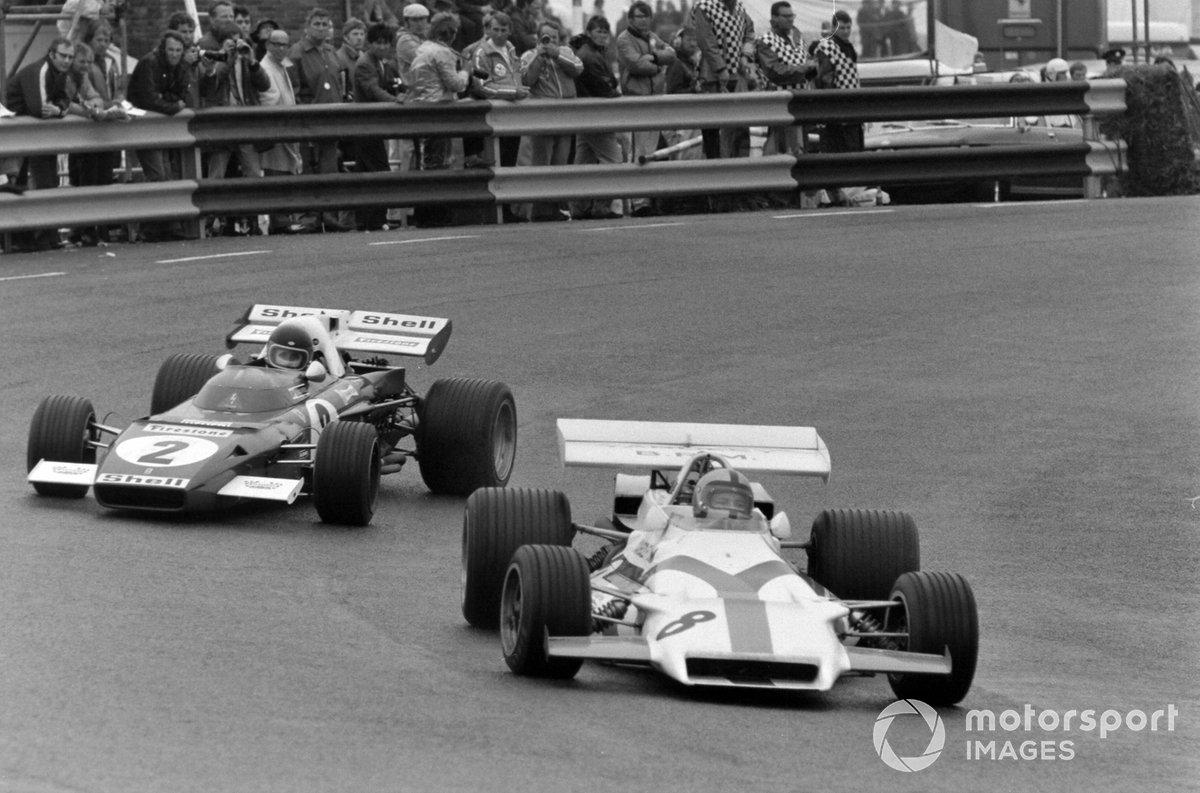 Pedro Rodríguez, BRM P160, Jacky Ickx, Ferrari 312B2