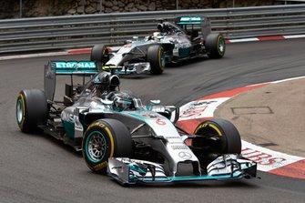 Nico Rosberg, Mercedes F1 W05 Hybrid, Lewis Hamilton, Mercedes F1 W05
