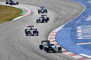 Cameron Das, Carlin Buzz Racing And Sebastian Fernandez, ART Grand Prix