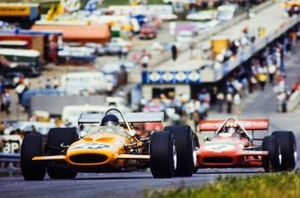 Peter Gethin, McLaren M14A, Jo Siffert, March 701
