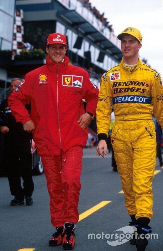#19 Ralf Schumacher, Jordan