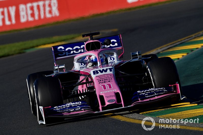 13. Sergio Perez, Racing Point RP19