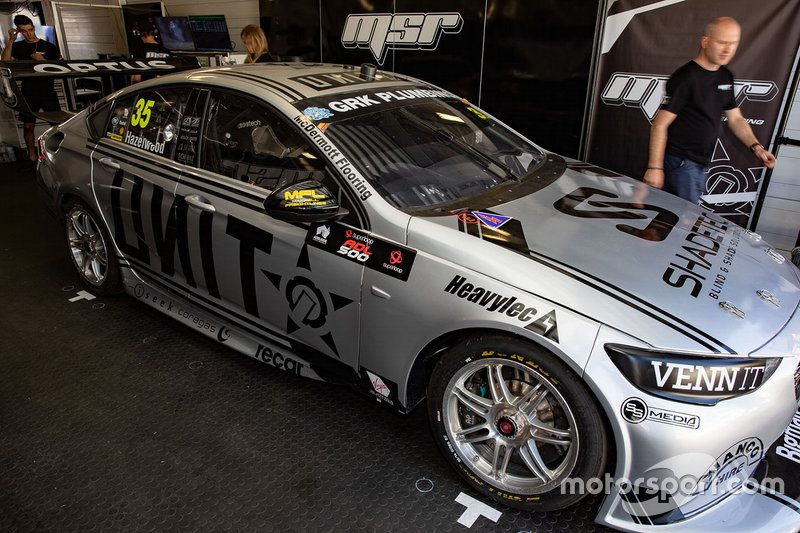 Matt Stone Racing: Тодд Хазлвуд, Holden ZB Commodore №35